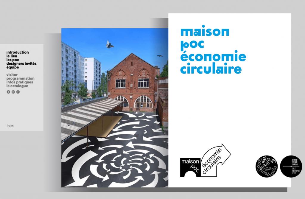 Couverture du magazine ne ligne de la maison POC économie circulaire